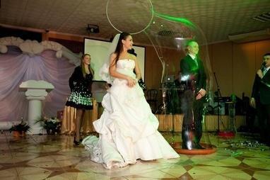 Александр Кобылинский, фокусник - Шоу мыльных пузырей