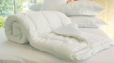 Мобильная реставрация и чистка подушек и одеял, мобильная мастерская - Одеяло двуспальное (175х210 см)