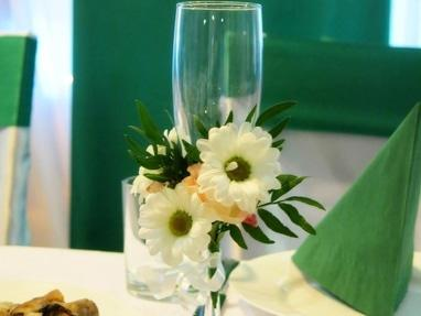 L'amour, свадебный декор и флористика - Декор бокалов