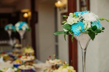 L'amour, свадебный декор и флористика - Композиции в вазах