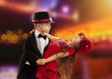 Elite Dance, школа танцев, студия танца, танцклуб - Бальные танцы для детей 2 раза в неделю