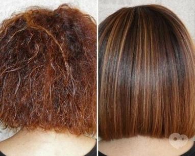 ФЛЭМП, Студия красоты - Химическое выравнивание (короткие волосы)
