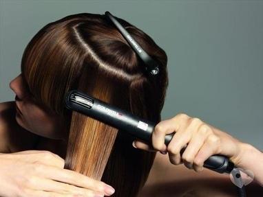 ФЛЭМП, Студия красоты - Выравнивание волос утюжком