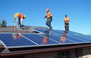 Solar Garden, альтернативная энергетика, солнечные электростанции - Монтаж солнечных электростанций
