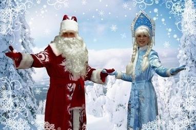 Мир Торжества, організація свят - Корпоративи: привітання від Діда Мороза та Снігуроньки