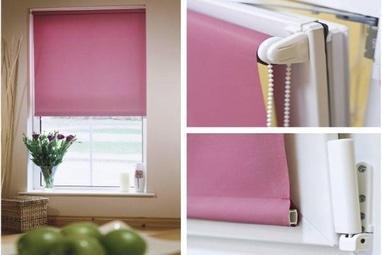 Декор окна, салон штор и текстильного дизайна - Рулонные шторы