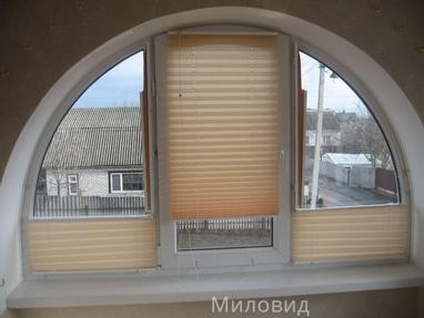 Миловид, рулонные шторы, жалюзи, окна, двери, роллеты - Изготовление плиссе
