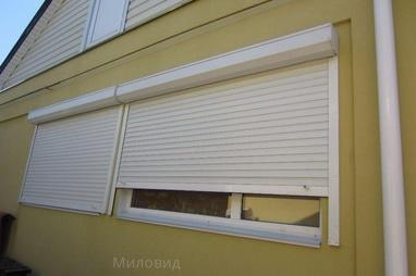 Миловид, рулонные шторы, жалюзи, окна, двери, роллеты - Изготовление роллет защитных