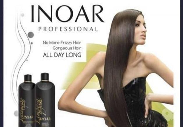 Діалог, центр здоров'я і краси - Бразильське кератинове випрямлення волосся 'INOAR' (Бразилія)