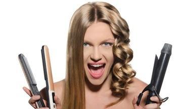 KidCut, семейная парикмахерская - Выравнивание волос стайлером