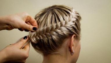 KidCut, семейная парикмахерская - Плетение кос