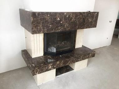 ArtStone, Мастерская изделий из натурального камня - Изготовление камина из натурального камня