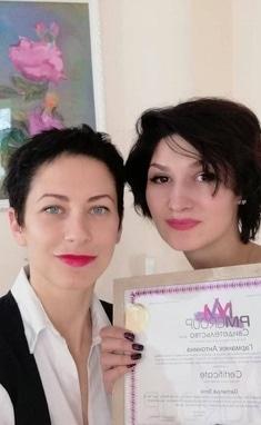 Анна Безуглая, мастер перманентного макияжа, профессиональный визажист - Обучение татуажу