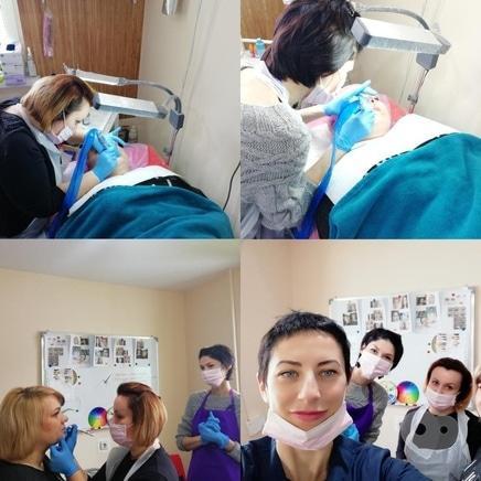 Фото 5 - Анна Безуглая, мастер перманентного макияжа, профессиональный визажист - Обучение татуажу