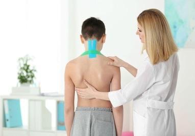 MEDГрація, ортопедичний реабілітаційний центр для дітей та підлітків - Накладення кінезіотейпу (в залежності від сегменту тіла та суглобу)