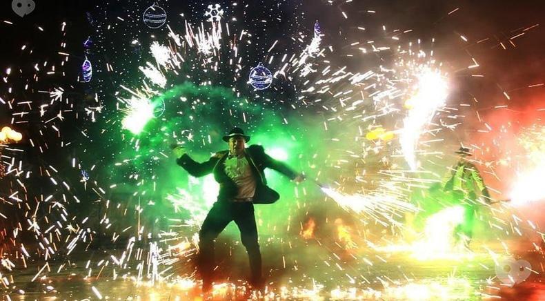 """Фото 1 - Сварожичі, вогняне шоу, піротехнічне шоу, велетні на ходулях - Піротехнічно-вогняне шоу """"ФЕЄРІЯ"""""""
