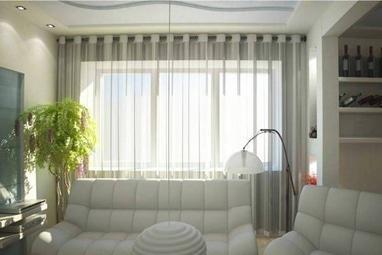 Декор окна, салон штор и текстильного дизайна - Тюль на окно