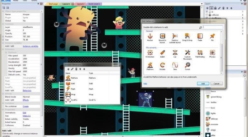 ИТ Школа ЧЕ, компьютерные курсы для школьников - Game Design: Создание игр в Construct2