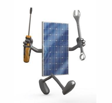 ISO Company, солнечные технологии - Сервисное обслуживание СЭС