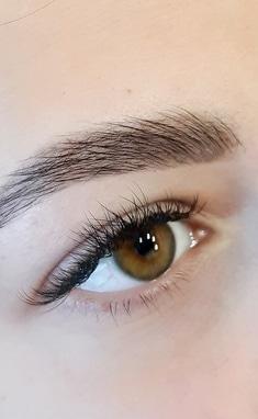 Аничка Капшитарь, проффесиональный визажист, бровист, лешмейкер - Художественное окрашивание бровей хной