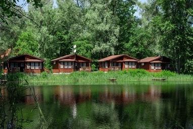 Selena Family Resort, Готельно-ресторанний комплекс - Бунгало Executive з видом на Дніпро