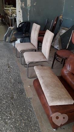 Фото 1 - Перетяжка мягкой мебели - Перетяжка стульев