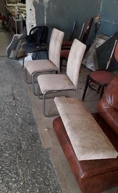 Перетяжка мягкой мебели - Перетяжка стульев