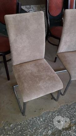 Фото 2 - Перетяжка мягкой мебели - Перетяжка стульев