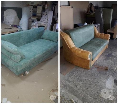 Фото 3 - Перетяжка мягкой мебели - Перетяжка диванов