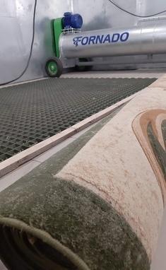 Kulum, Чистка, стирка и химчистка ковров и жалюзи - Стирка ковровых покрытий: толстые и габаритные