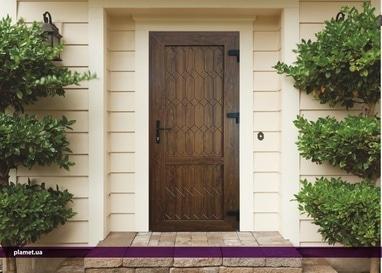 PLAMET, Производство металлопластиковых окон и металлических дверей - Изготовление металлопластиковых 3D дверей в цвете золотой дуб, махагон и темный дуб