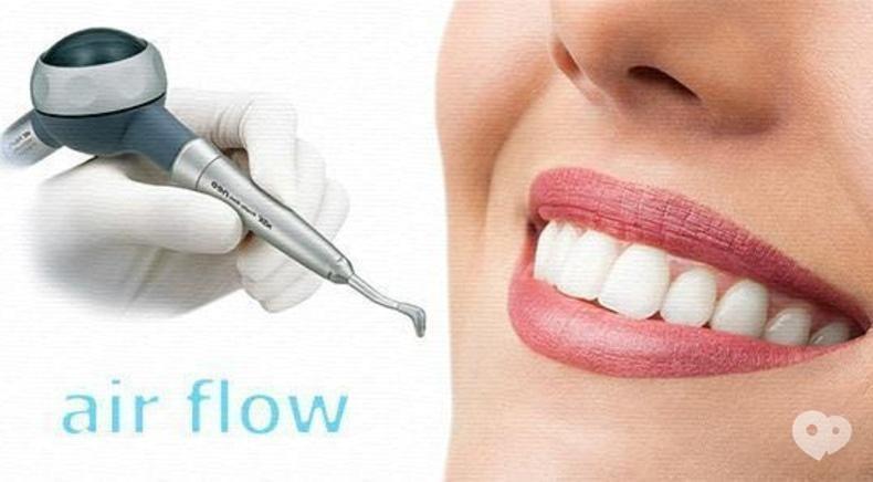 Стомадеус, стоматологічна клініка - Професійна чистка зубів Air Flow