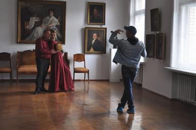 Художній музей - Фотосесія