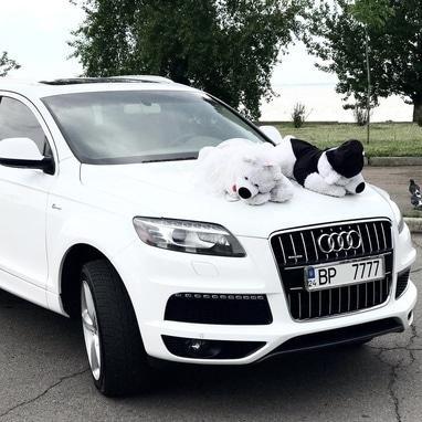 Эдем, агентство организации праздников - Аренда внедорожника Audi Q7 5.0T Quattro (2015)