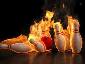 """""""Золотая кегля"""" в """"Cosmos-bowling"""""""