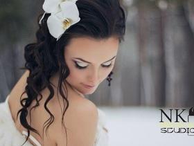 Скидка на свадебный и вечерний макияж от Make-up studio by Kuchma Natali