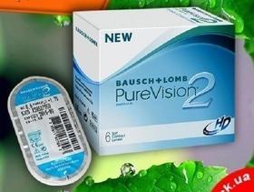 """Линзы PureVision 2 HD: 4 линзы по цене 3-х в салоне оптики """"Зір"""""""