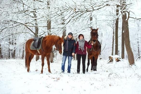 """Акция - Специальная цена на фотосессию с лошадьми для влюбленных от """"Pegas"""""""