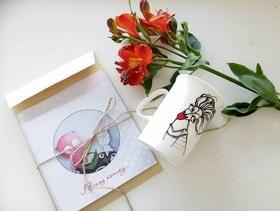 Акционная цена на авторский подарочный комплект от художницы Анны Проненко