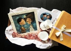 Скидка на свадебный подарочный бокс от Анны Проненко