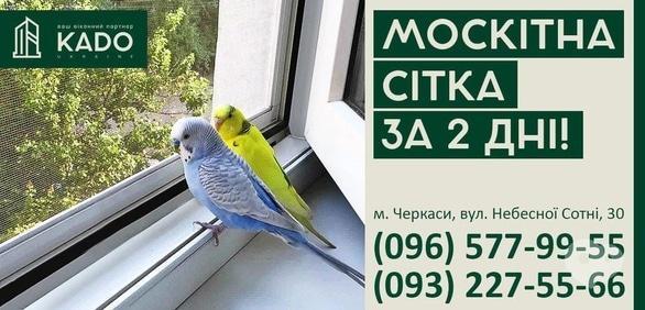 """Акция - Акция """"Москитные сетки за 2 дня"""" от KADO Ukraine"""