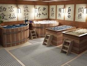 Отдых в японской бане Офуро от Дар Калифа