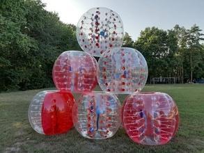 Бесплатная игра в бампербол для именинников от LOCA